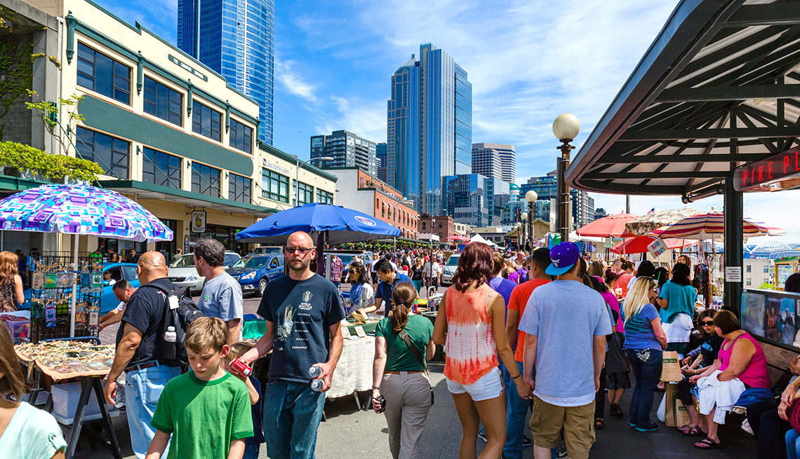 Top Cities for 50+ Job Seekers - Seattle