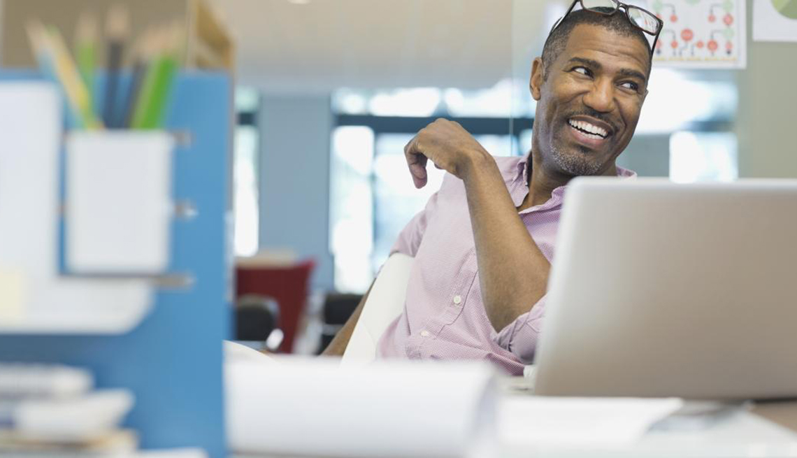 A Mature Man in an Office Setting, Avoid Seven Mistakes, Job Seekers