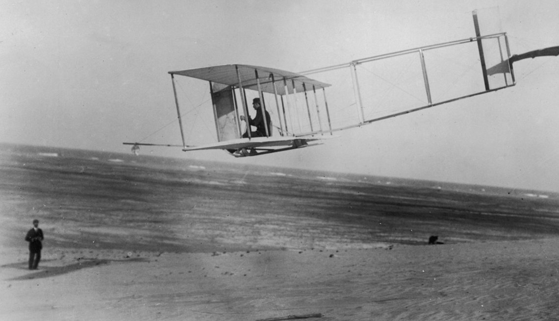 Orville and Wilbur Wright, First flight, Creative Thinking,