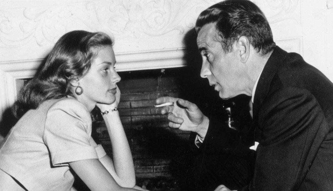 Humphrey Bogart and Lauren Bacall, Creative Thinking,