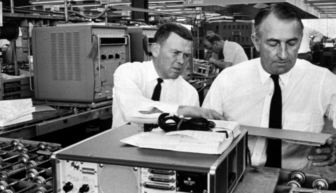Bill Hewlett and Dave Packard, Computers, Creative Thinking