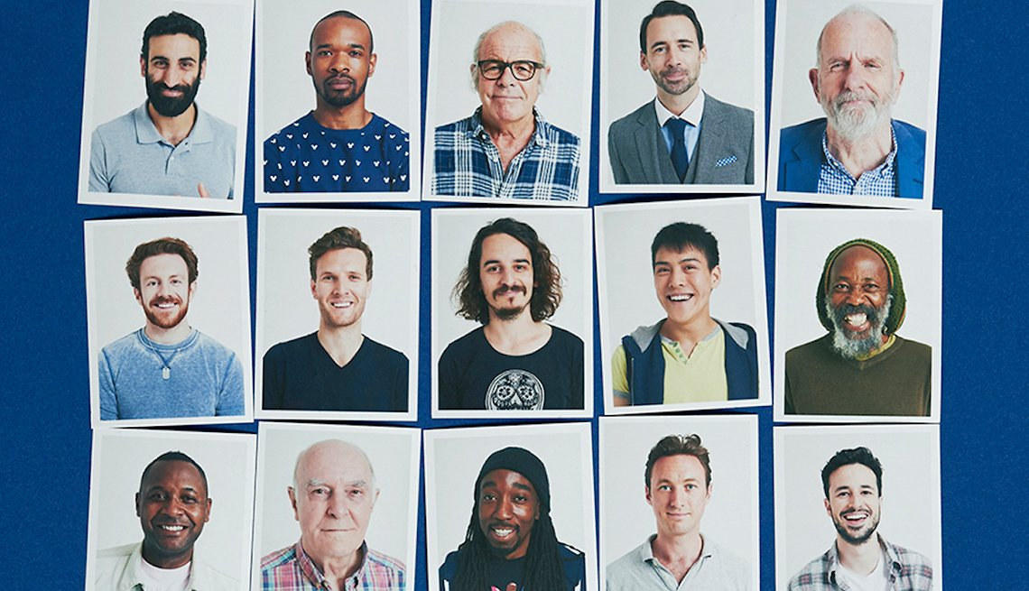 Portraits of various men displayed in a grid, Ways Linkedin Can Find You a Job, Work