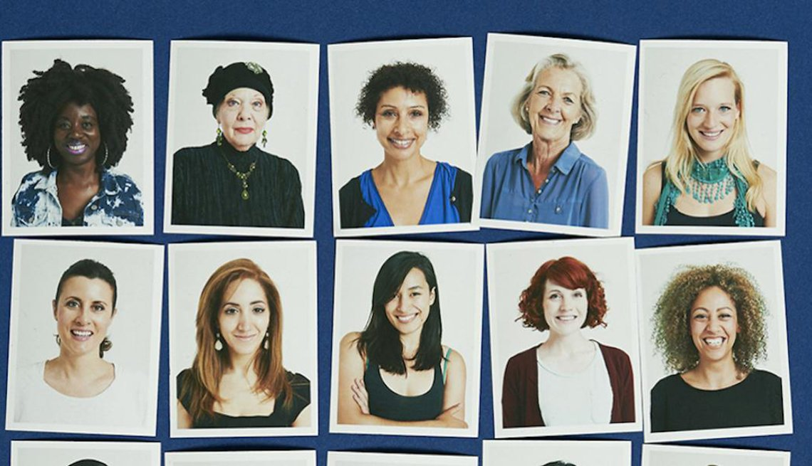 Portraits of various women displayed in a grid, Ways Linkedin Can Find You a Job, Work