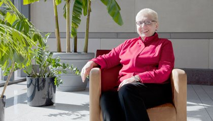 Patricia Keith, University's medical school retains valuable mature employees