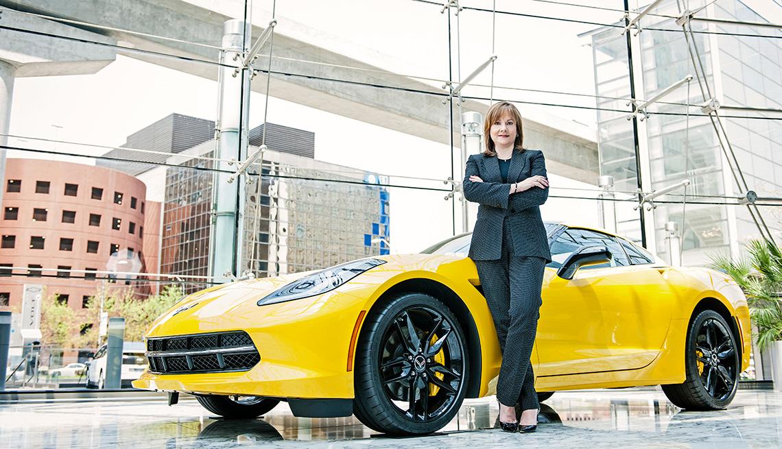 Mary Barra, directora ejecutiva de General Motors - Importancia de los trabajadores mayores