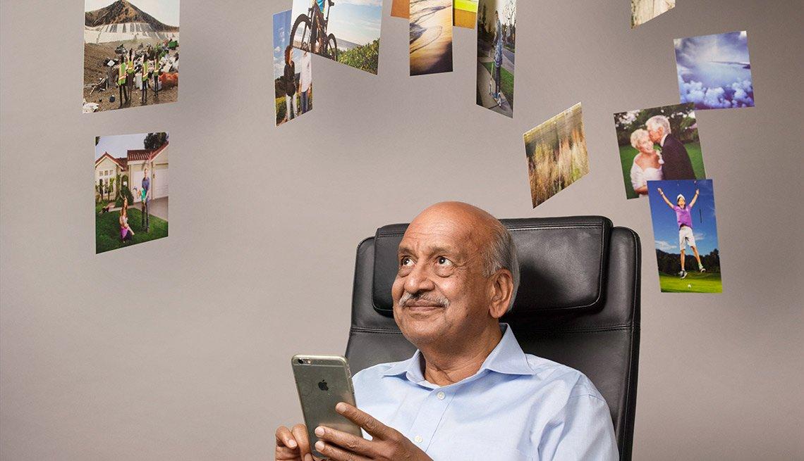 Ramesh Jain - Emprededor digital mayor de 50 años