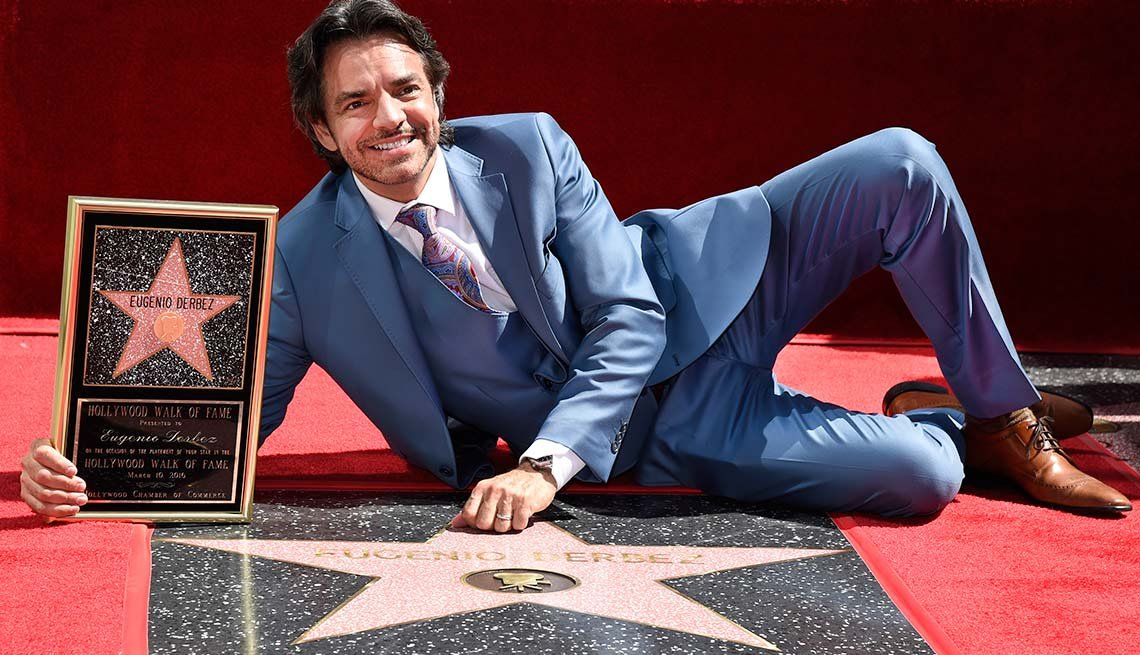 Eugenio Derbez Honored With a Star on the Hollywood Walk of Fame