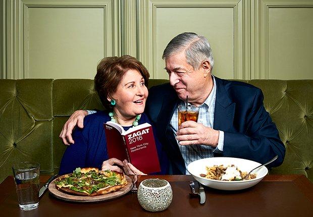 Ricos después de los 50 - Tim y Nina Zagat de Zagat