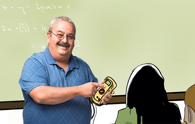 Glen Norman de un trabajor de maquinaria pesada a profesor