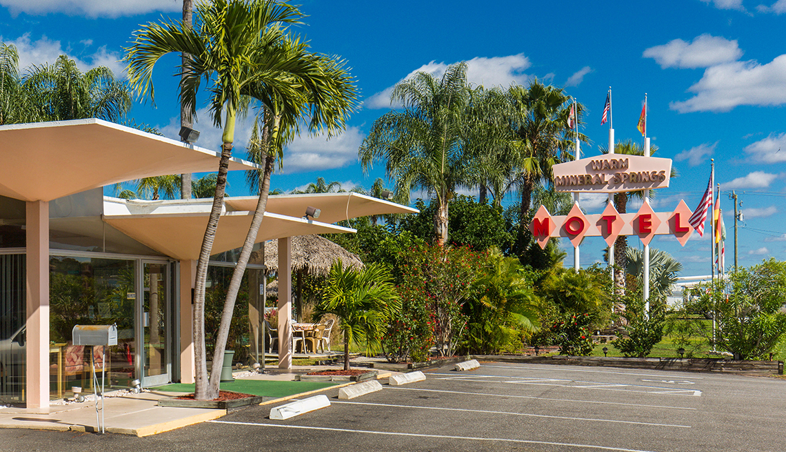 Warm Mineral Springs Motel - North Port, Florida