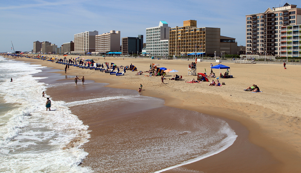 Virginia Beach Oceanfront - Virginia Beach, Virginia
