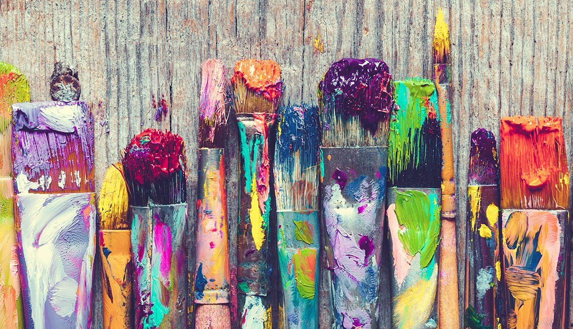 use your paintbrushes to make money from your art hobby