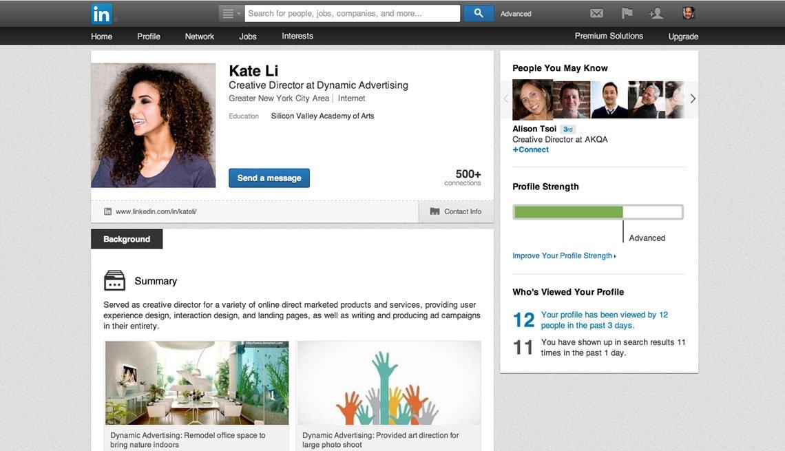 Linkedin Website, consejos para tu perfil