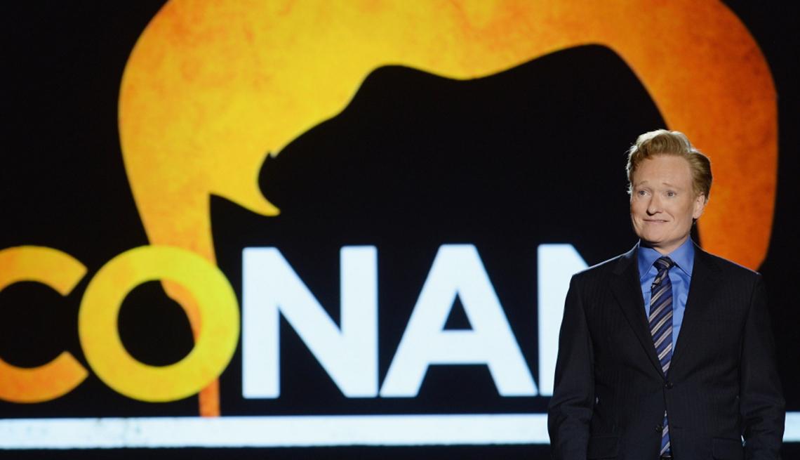 Conan O'Brien, late-night talk show host