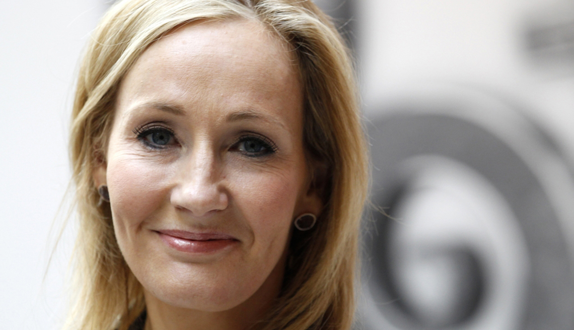 Author J.K. Rowling, Harry Potter book series