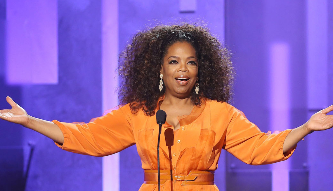 Oprah Winfrey onstage during 45th NAACP Image Awards, Failure is the New Success.