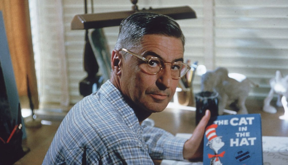 Children's author and illustrator Theodore Seuss Geisel, Dr. Seuss, Failure is New Success