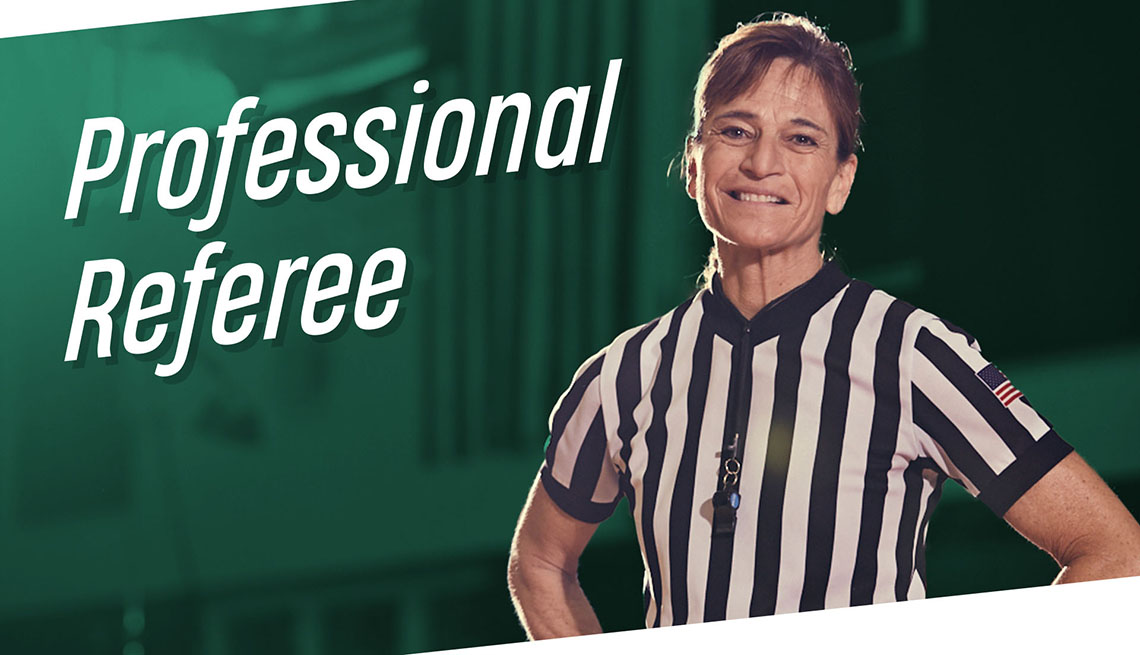 Dee Kanter professional Referee