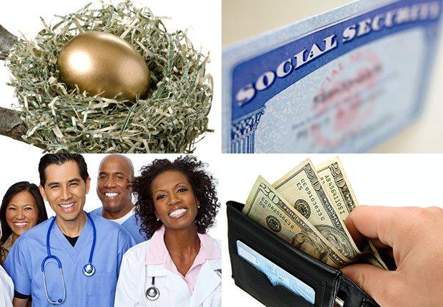 Retirement, social security, careers, spending money