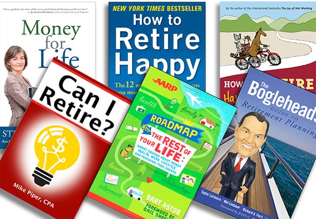 Books on money and retirement planning