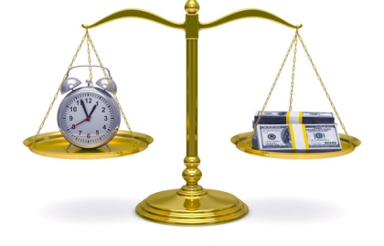 Scale with clock and money, Quiz Retirement mistakes