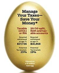 Golden egg, manage your taxes