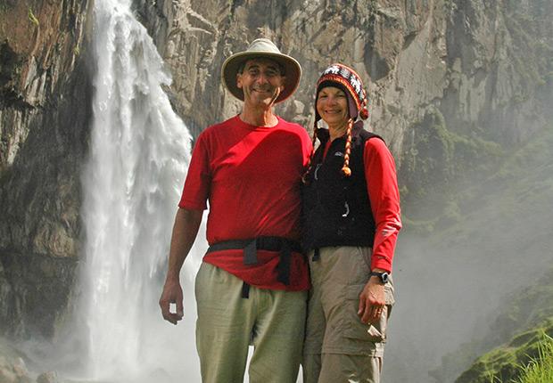 Bill and Wendy Birnbaum, First Day of Retirement