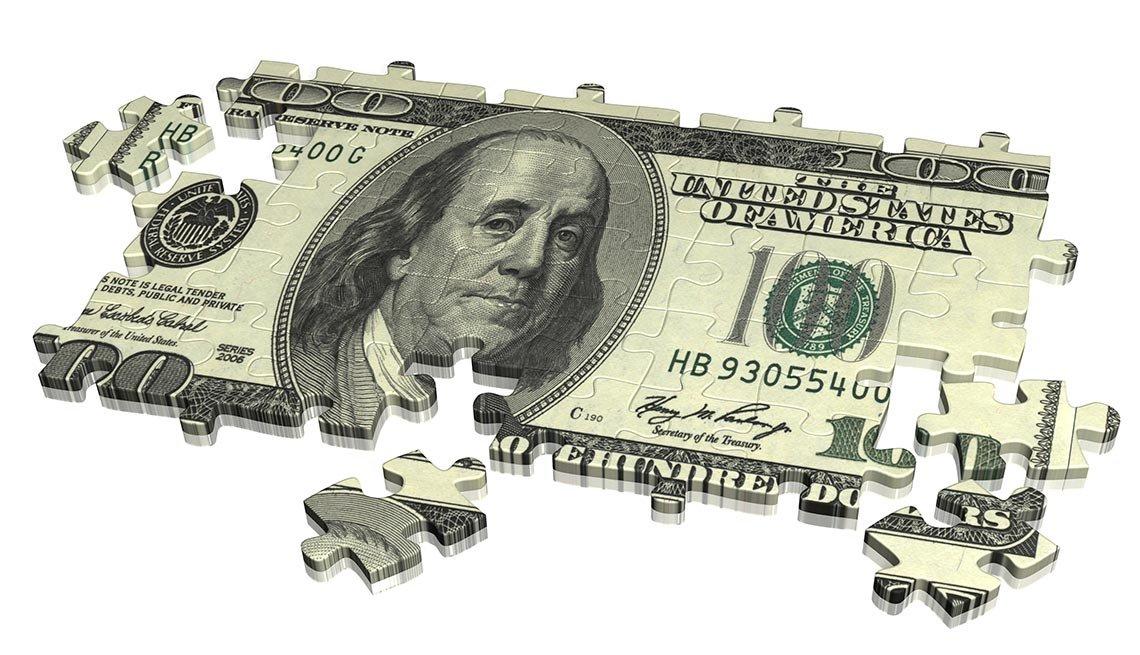 money puzzle, Retirement quiz