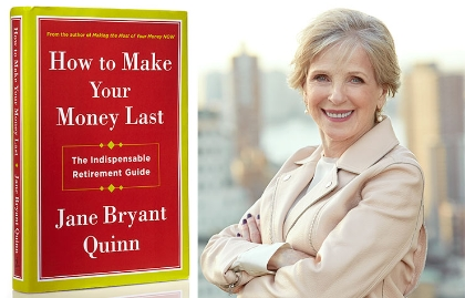 Portada del libro How To Make Your Money Last y su autora Jane Bryant Quinn - Cómo hacer que el dinero dure