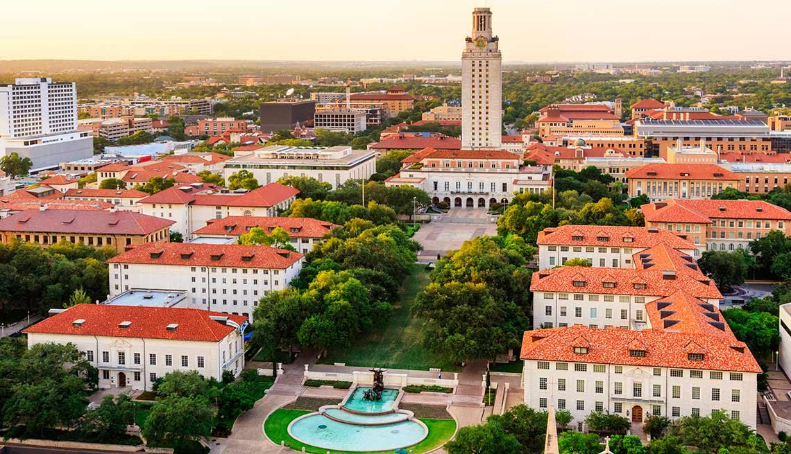 10 ideal college towns to retire for 10 best places to live in texas
