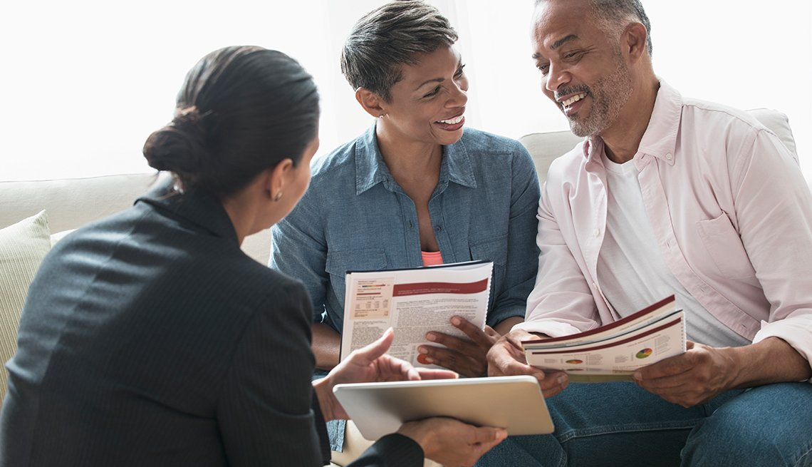 Discussing how to save for your retirement