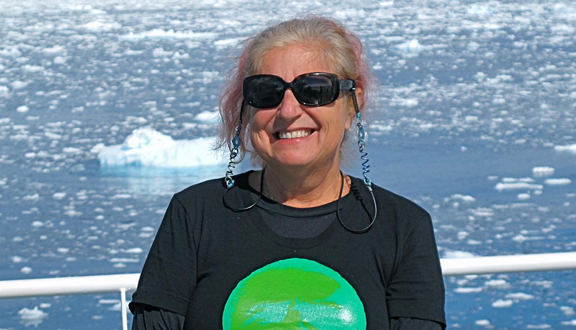 Sylvia Solomon lista para el retiro