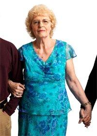 Joan Guentner, entrevistada sobre el seguro social.