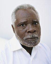 Portrait of a Senior Man Wearing a White Shirt
