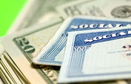 Social Security cards and money, AARP Mailbox