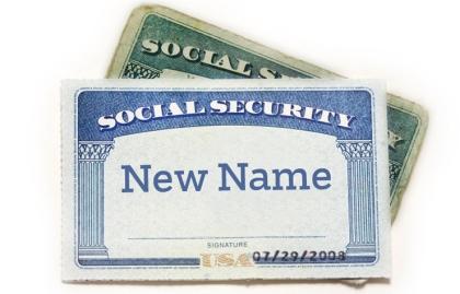 Tarjetas de Seguro Social, cambie su nombre