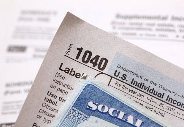 Social Security card and tax form, AARP Social Security Mailbox Top 10 questions asked
