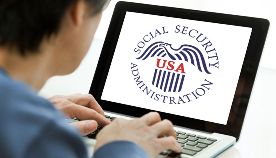 My Social Security personal accounts on the Social Security website