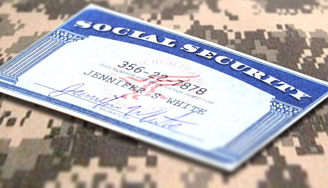 Social Security Mailbox: Military service