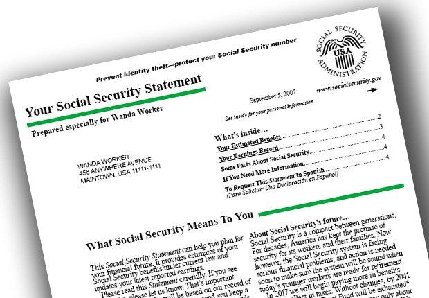 Estados de cuenta por correo - Cambios Seguro Social para el 2015