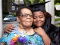 Doris Gillispie with her granddaughter, Shatavia Walker