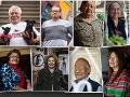 Retratos de las personas que participaron en la encuesta nacional acerca del Seguro Social