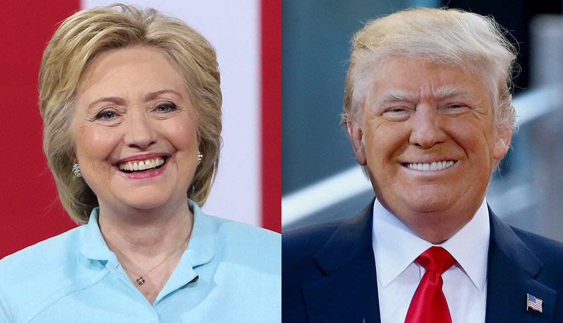 AARP Poll:  Social Security Women 50 plus - candidates Clinton vs. Trump