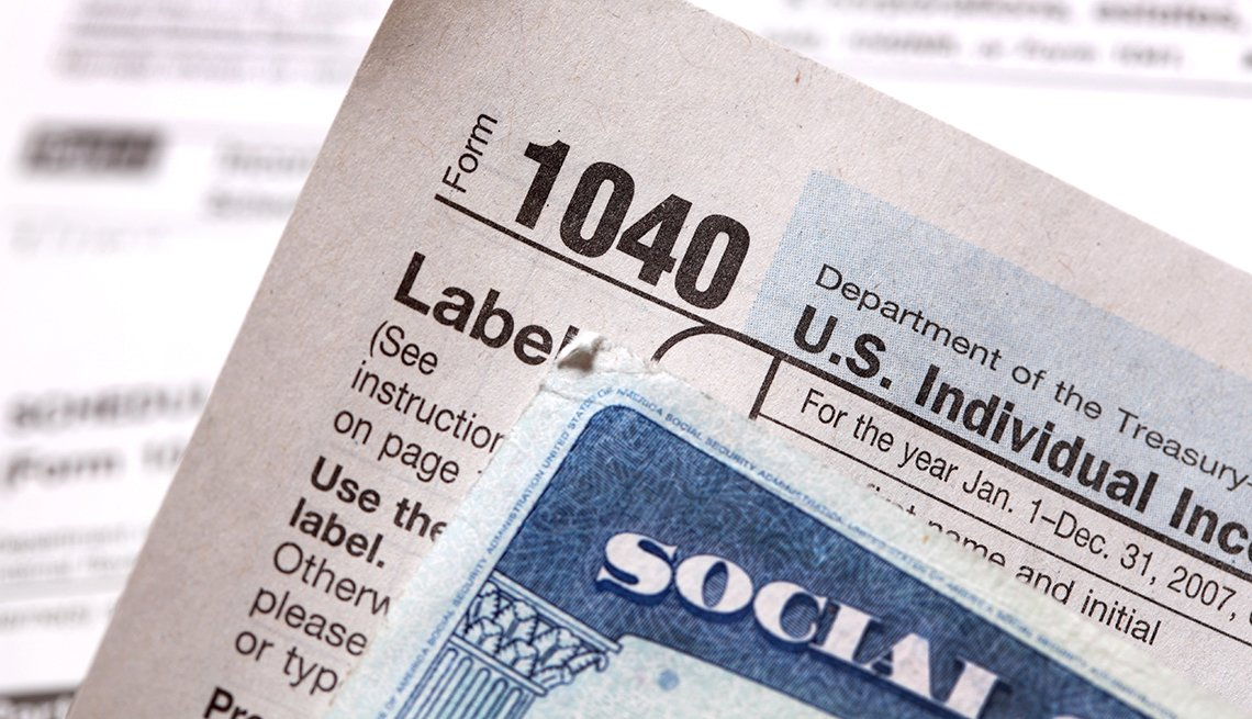 1040, form, social, security, card