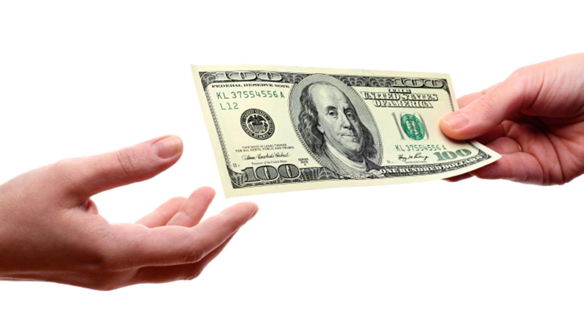 Dos manos y un dolar