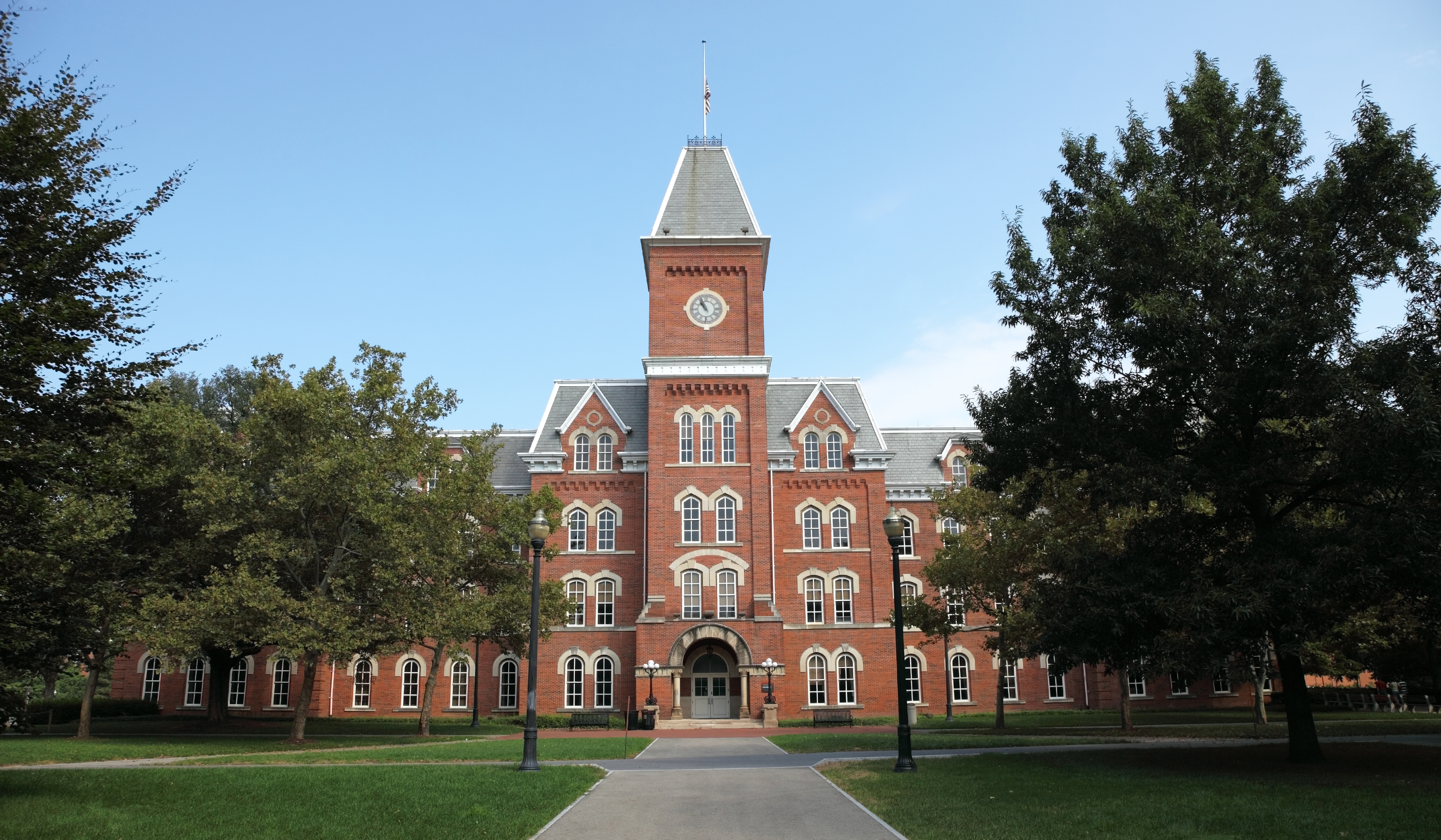 A brick building on the Ohio State University campus.