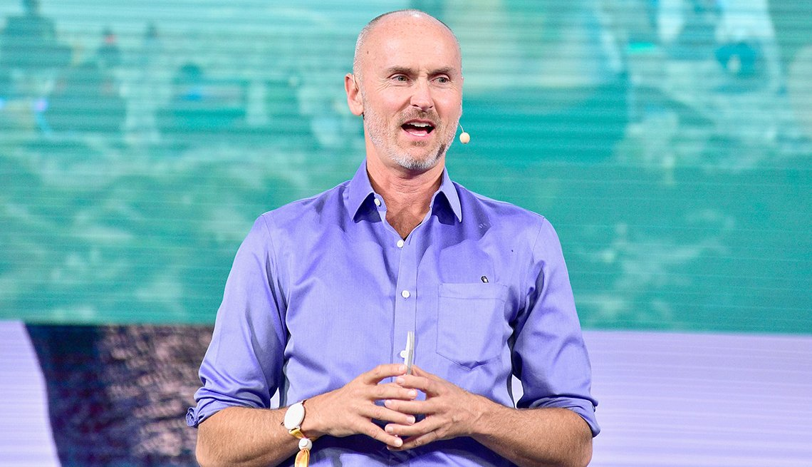 Chip Conley, autor de Wisdom @ Work: The Making of a Modern Elder