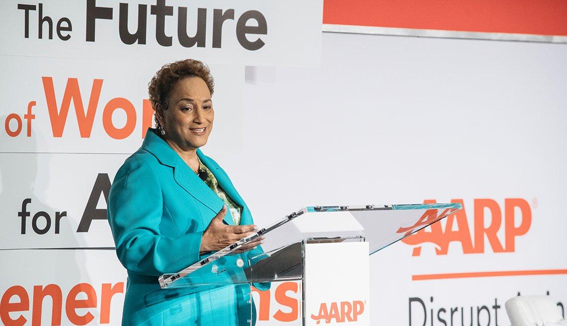 Jo Ann Jenkins en la conferencia de 'El futuro del trabajo para todos'