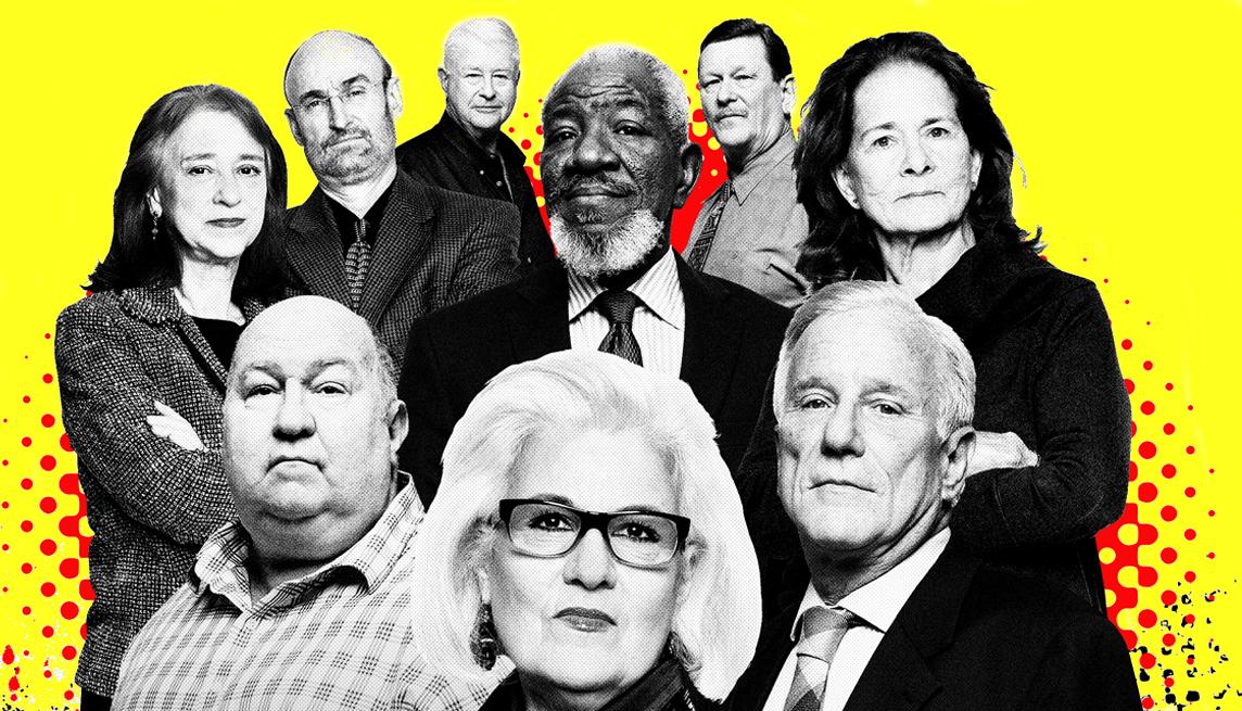 Grupo de personas mayores de 50