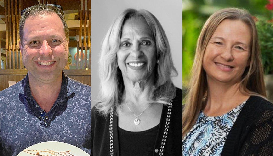 Shaun Gilley, Sue Taylor y Julie Chickery